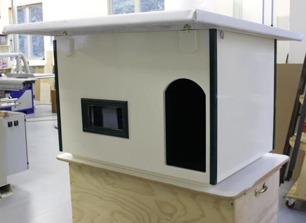 dog house overhang