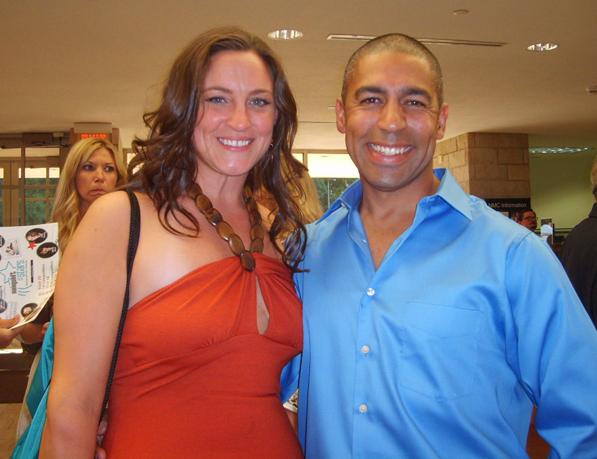 Dr. Jen Klabunde and dancer Danny Brizard.