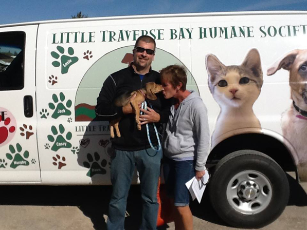 Lilith was adopted from Little Traverse Humane Society