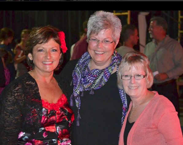 Carla Filkins, Gayla Finstrom and Judy Nichols. Photo credit: Carla Filkins for Mayor Facebook page