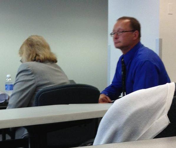 James Woudenberg & his attorney, Nancy Kahn. Photo credit: http://michigandersforshelterpets.org