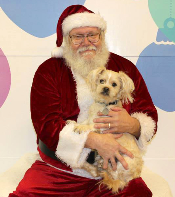 Photo taken by AC PAW during 2013 Santa Photos at PetSmart