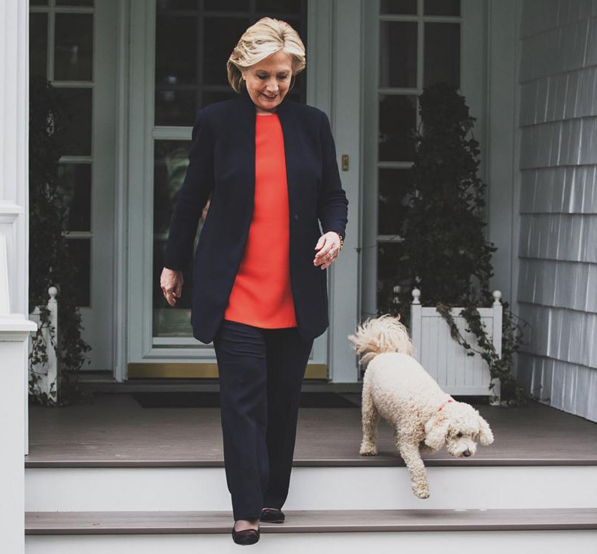 photo credit: Hillary's Instagram page